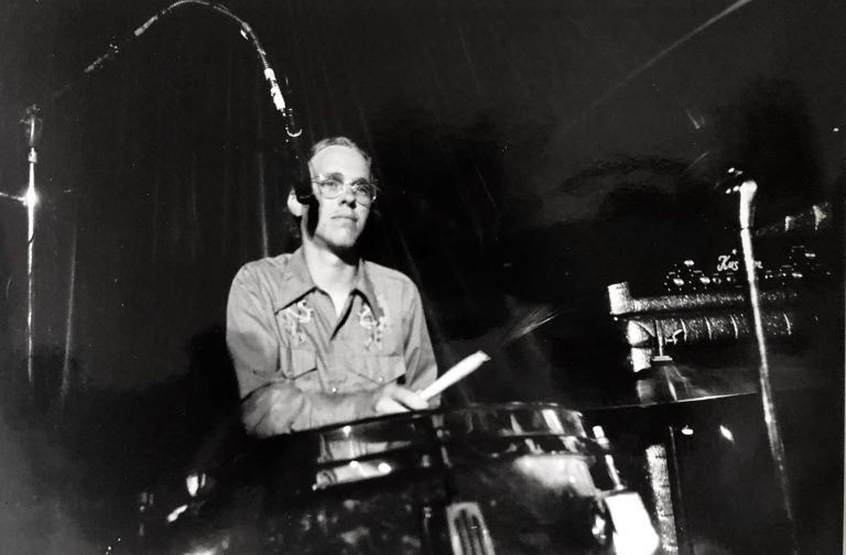 RJ Jacob at the drums